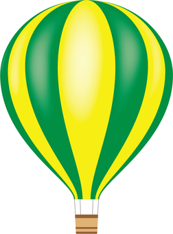 Hot air balloon (gradation) 1