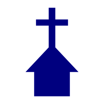 Map symbol Church For foreigners