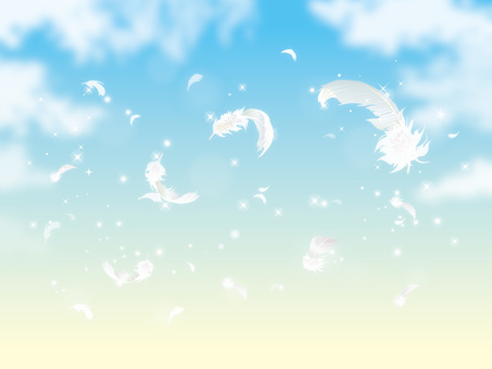 Glitter and feathers and clouds 05