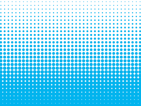 Background material of color halftone (light blue)