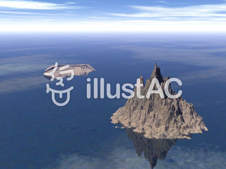 自然3DCG背景 02のイラスト