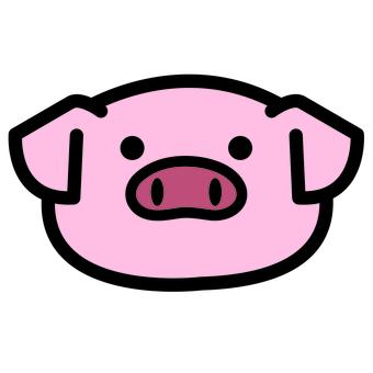 돼지 양 페이스
