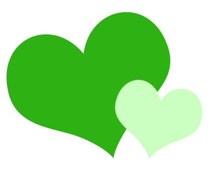Heart (green)