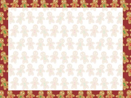 Gingerman Cookie Background 2