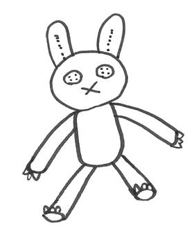 Rabbit stuffed animal