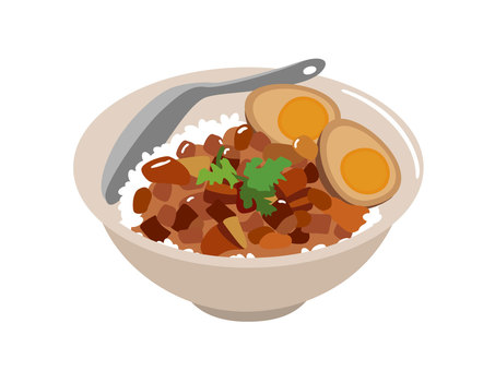 Lu meat rice