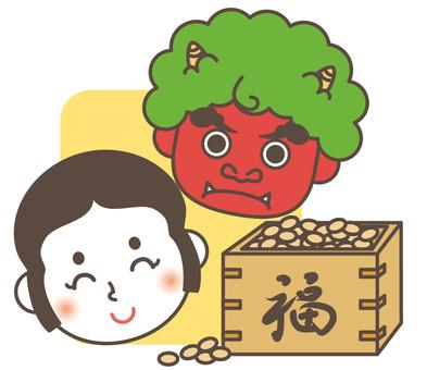 Setsuboshi bean roll 01