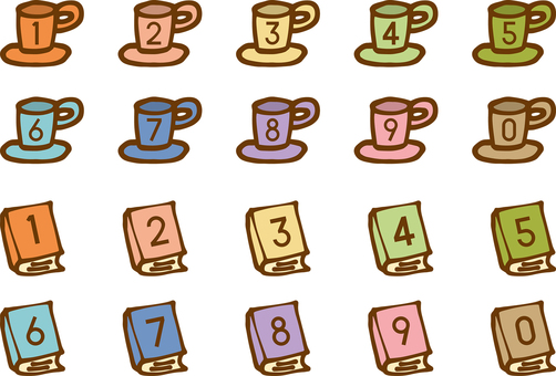 Illustration with numbers