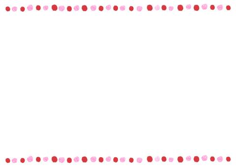 Polka dots card 05