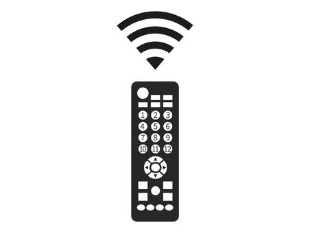 Remote control black and white