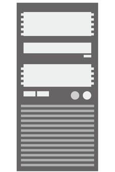 服務器(灰色)