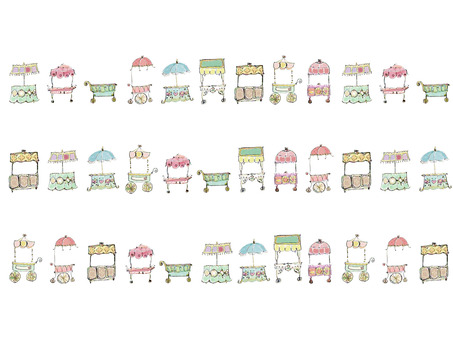 Wagon car parade