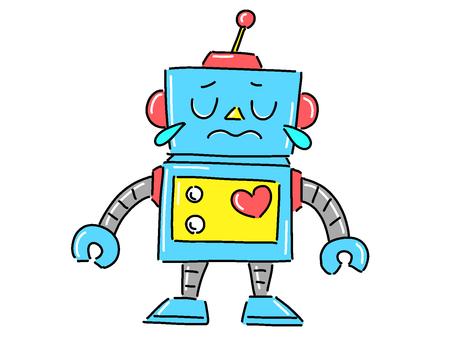 Robot [crying]