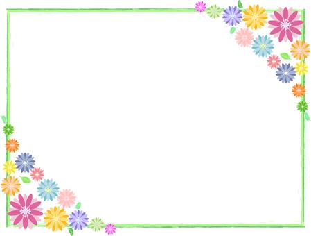 Flower frame 11