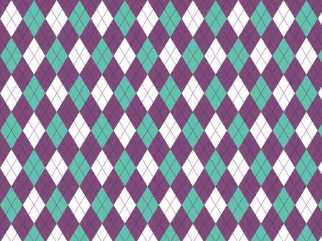 Argyle ● Purple × Emerald