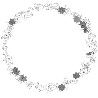 花框架(鐵線蓮屬)單色