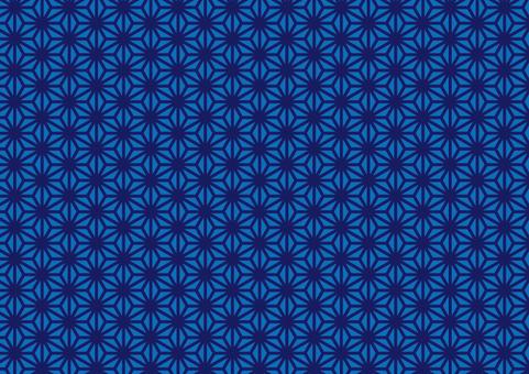 Japanese pattern (hemp leaf) 3
