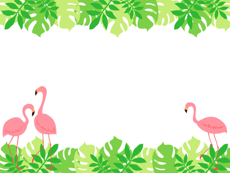 Flamingo's southern country style frame