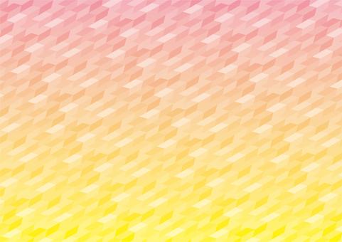 Seamless pattern waves sunset sea background
