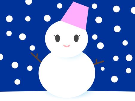 雪だるま02