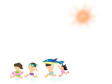 We will still swim ~!