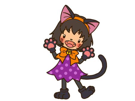 Black cat's costume