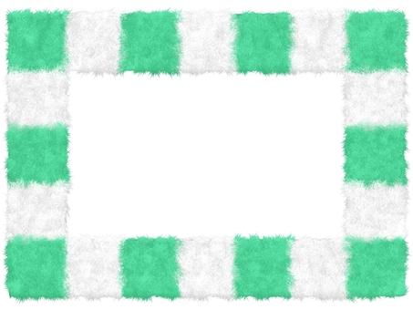 Fluffy Mokomoko Material Square Frame 2