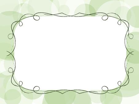 简单的框架(绿色)