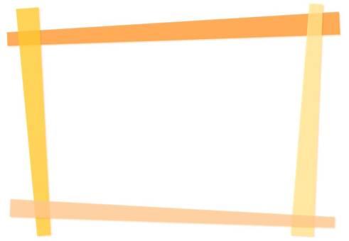 Combination frame 【Orange】