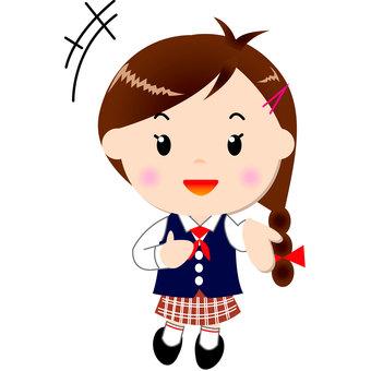 Girl students (talk)