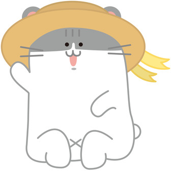 Hamster with a hat