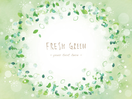 Fresh green frame ver13