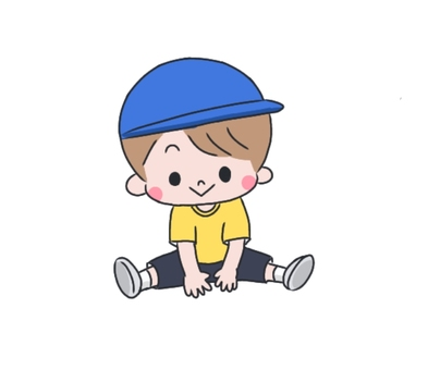 Boy in blue color hat