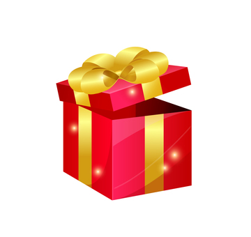 Present · red Christmas · on your birthday