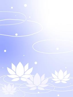 Water lily background material 02