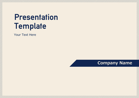 Business template 009