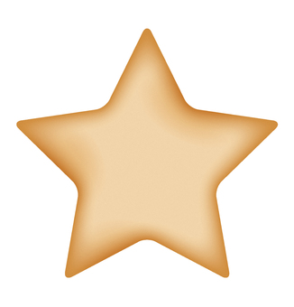 Star type cookie