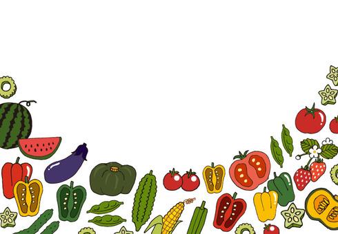 Summer vegetable set (color 2)