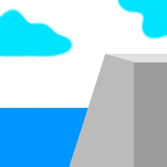 Sea and seawall