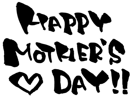 """Brush character """"Mother's Day"""""""