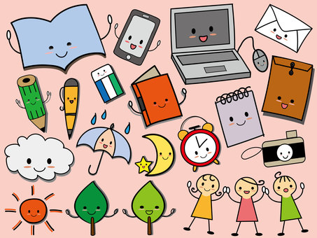 Cute illustration ①