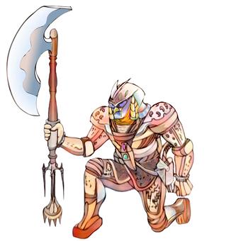 Yokai fighter alien