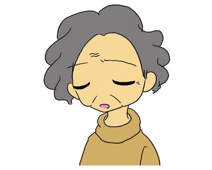The depression of grandma (no sighs)