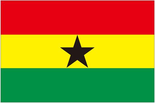 ガーナ 国旗