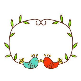 Birds and ivy