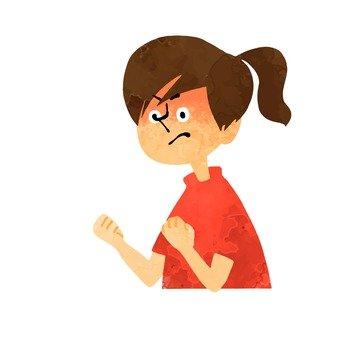 An irritating woman