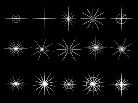 A lot of light material blur 01