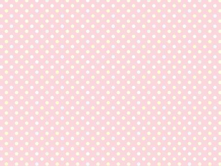 背景壁紙パターンピンク色水玉模様ドット柄