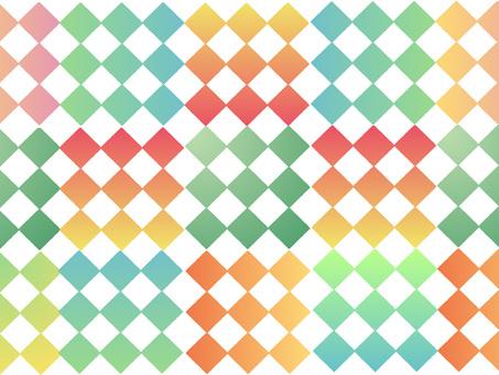 Background lattice pattern