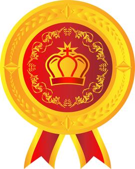 王冠メダル